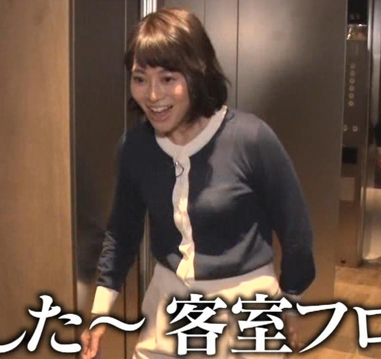 久保田直子アナ 着衣おっぱいや疑似フェラなどキャプ・エロ画像