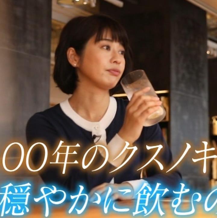 久保田直子アナ 着衣おっぱいや疑似フェラなどキャプ・エロ画像14