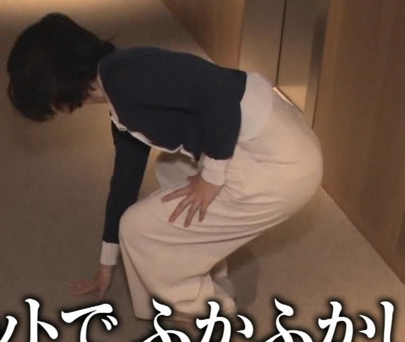 久保田直子アナ 着衣おっぱいや疑似フェラなどキャプ・エロ画像3