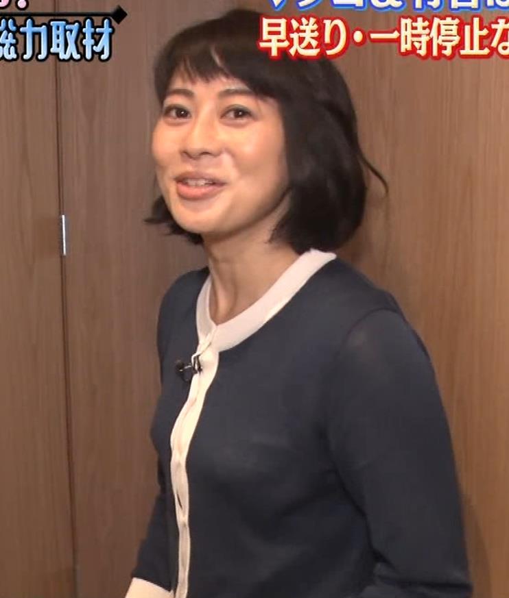 久保田直子アナ 着衣おっぱいや疑似フェラなどキャプ・エロ画像8