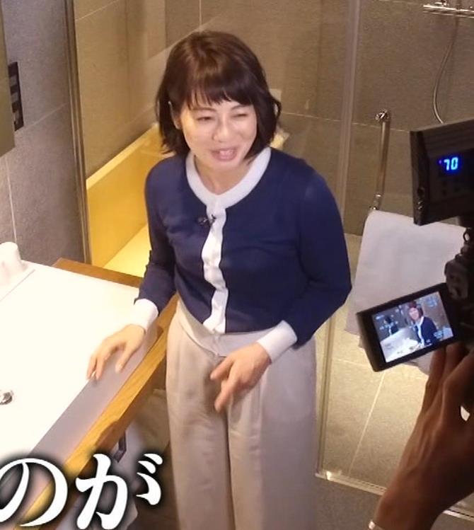 久保田直子アナ 着衣おっぱいや疑似フェラなどキャプ・エロ画像9
