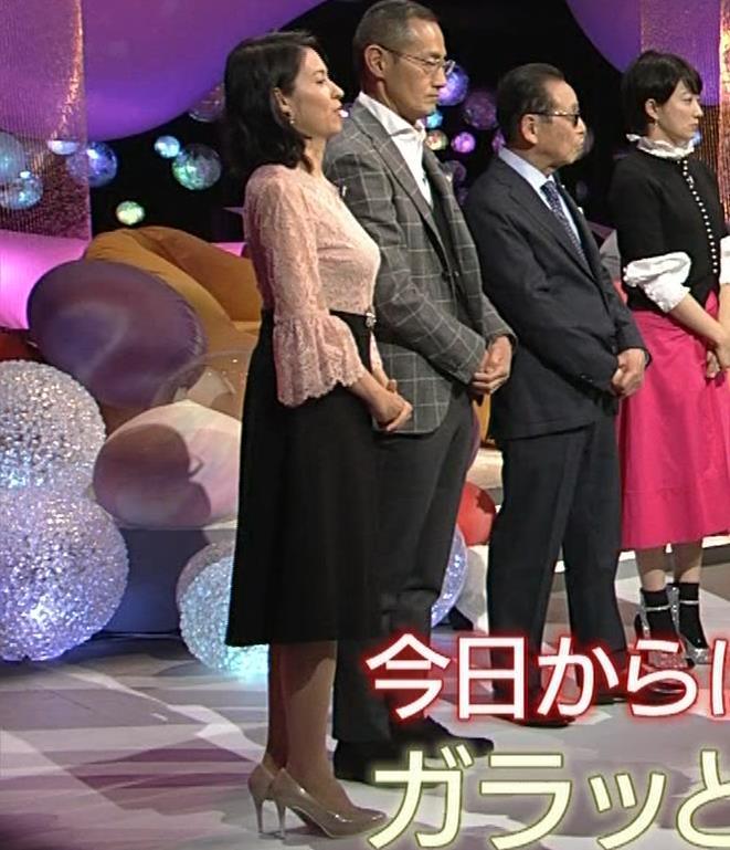 久保田祐佳アナ 横から見た巨乳がエロ過ぎキャプ・エロ画像