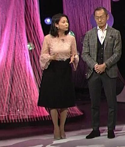 久保田祐佳アナ 横から見た巨乳がエロ過ぎキャプ・エロ画像5