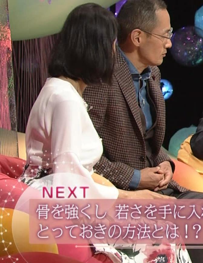久保田祐佳アナ かなり巨乳が目立っていたキャプ・エロ画像11