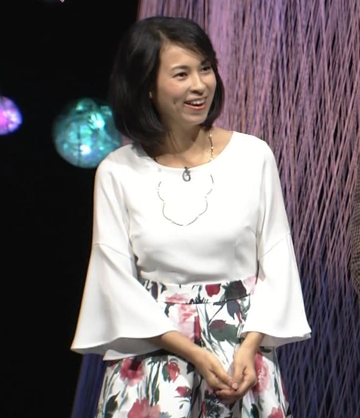 久保田祐佳アナ かなり巨乳が目立っていたキャプ・エロ画像4