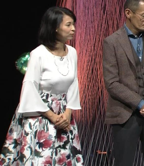 久保田祐佳アナ かなり巨乳が目立っていたキャプ・エロ画像8