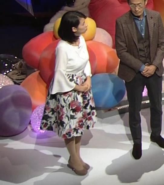 久保田祐佳アナ かなり巨乳が目立っていたキャプ・エロ画像10