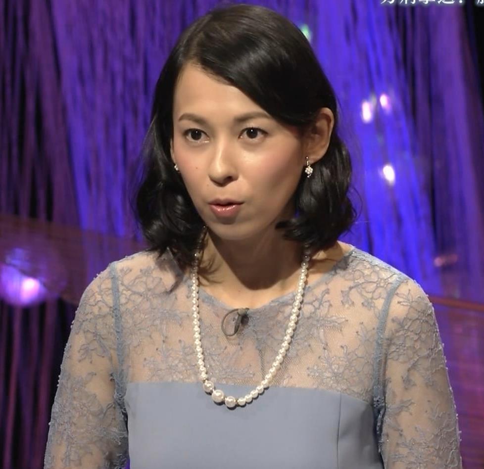 久保田祐佳アナ 巨乳でパンパンになった乳袋キャプ・エロ画像6