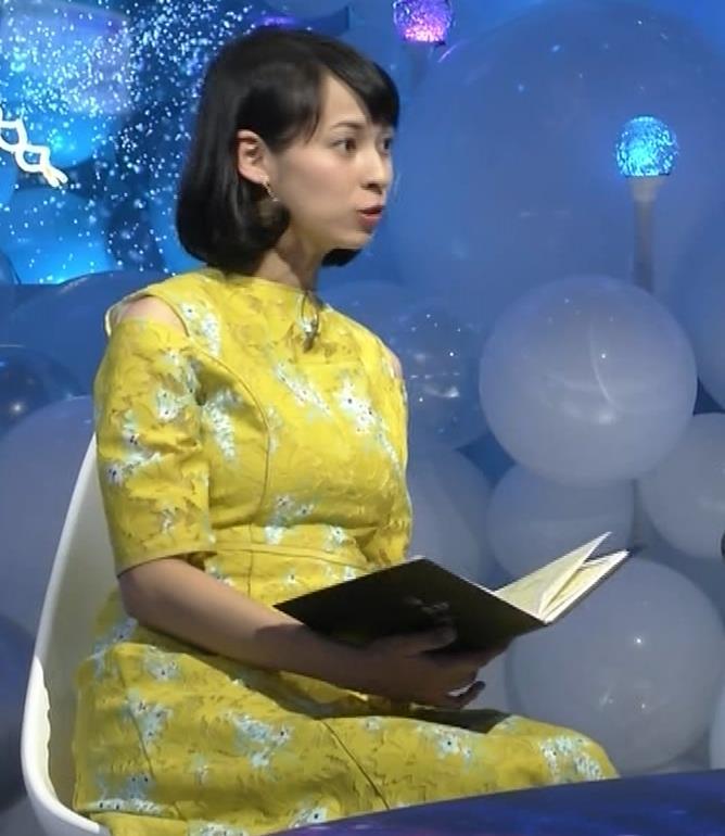 久保田祐佳アナ おっぱいがパツパツの衣装キャプ・エロ画像5