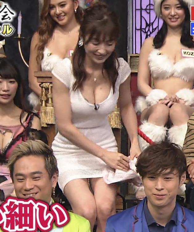 熊田曜子 見せ乳キャプ・エロ画像4