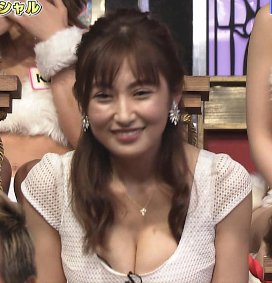熊田曜子 見せ乳キャプ・エロ画像6