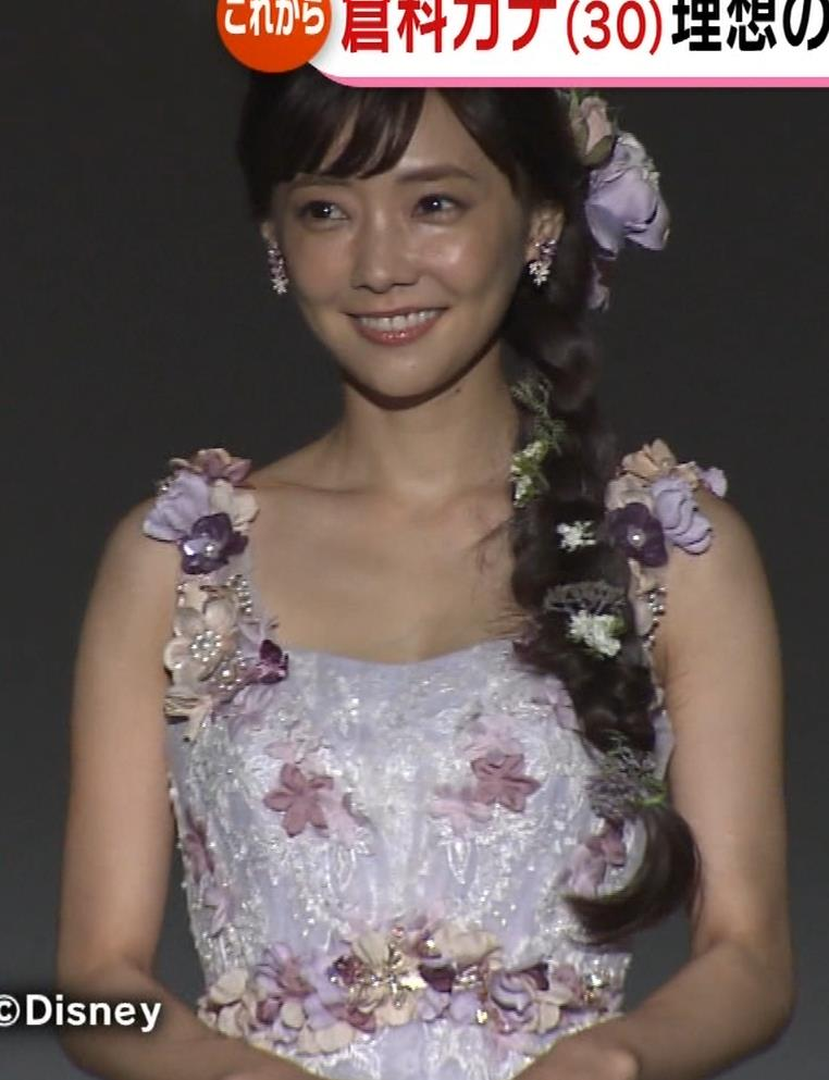 倉科カナ ウェディングドレスでおっぱいチラリキャプ・エロ画像15