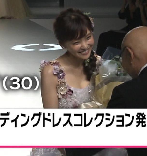 倉科カナ ウェディングドレスでおっぱいチラリキャプ・エロ画像4