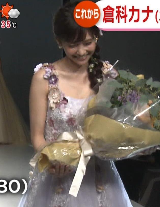 倉科カナ ウェディングドレスでおっぱいチラリキャプ・エロ画像5