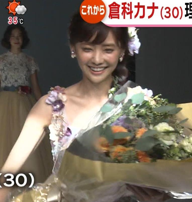倉科カナ ウェディングドレスでおっぱいチラリキャプ・エロ画像6