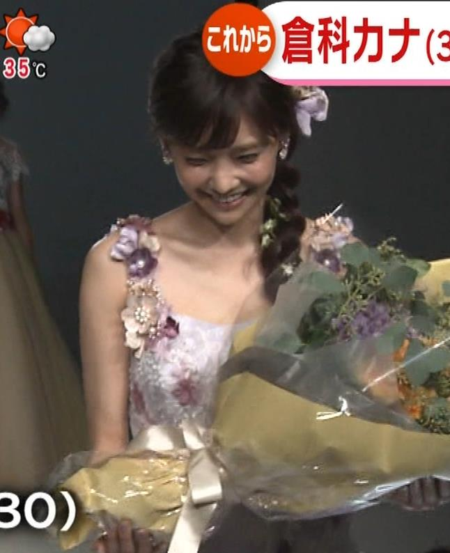 倉科カナ ウェディングドレスでおっぱいチラリキャプ・エロ画像7