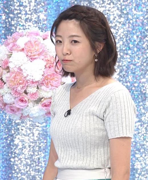 黒木千晶アナ ニットおっぱいキャプ画像(エロ・アイコラ画像)