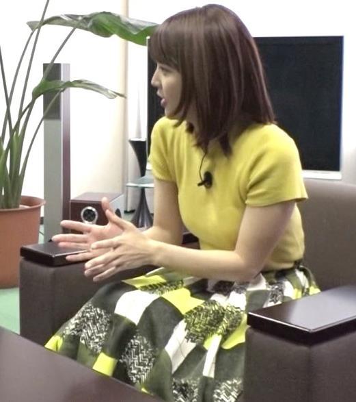 久代萌美アナ ニットおっぱいキャプ・エロ画像6