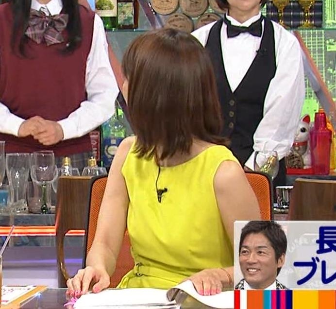 久代萌美アナ 健康的なノースリーブキャプ・エロ画像2