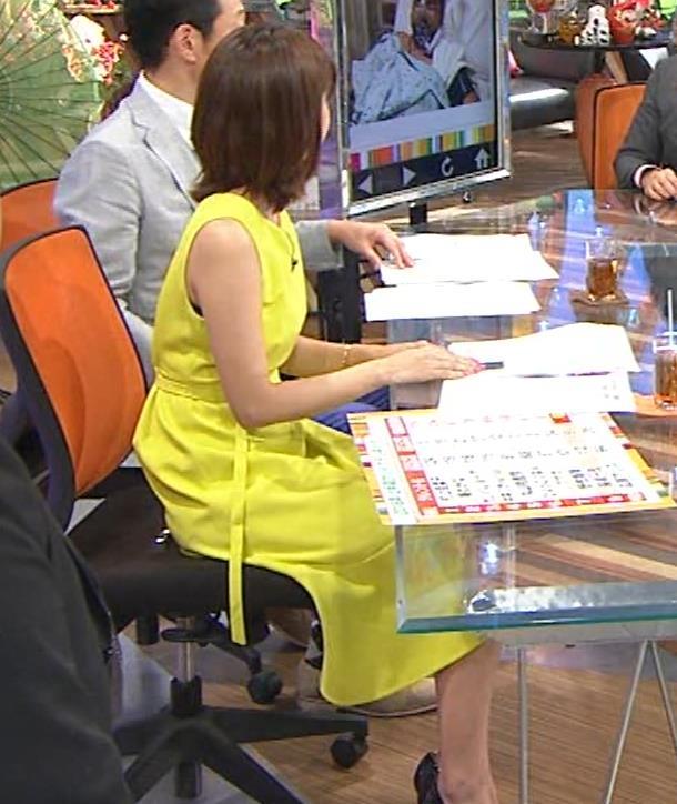 久代萌美アナ 健康的なノースリーブキャプ・エロ画像11