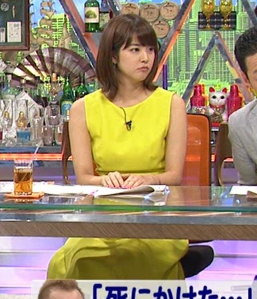 久代萌美アナ 健康的なノースリーブキャプ・エロ画像5