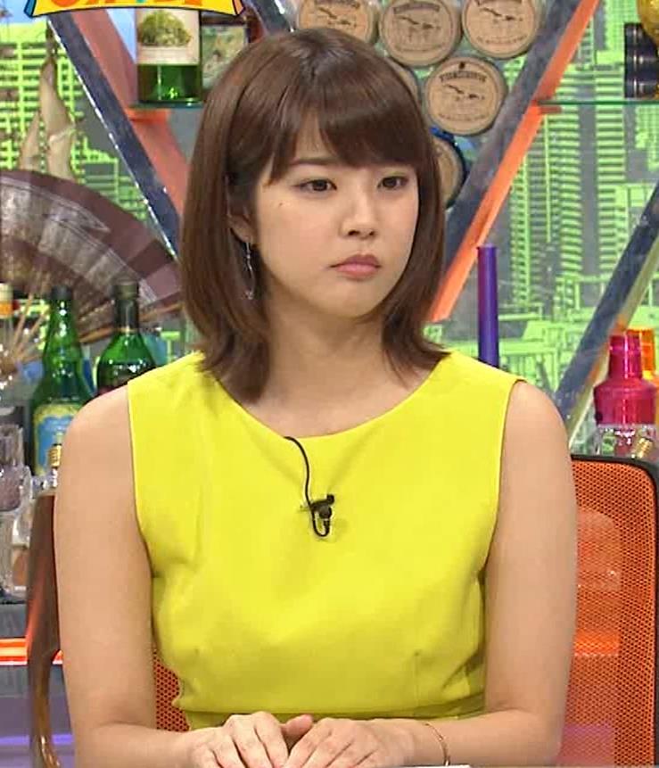 久代萌美アナ 健康的なノースリーブキャプ・エロ画像6