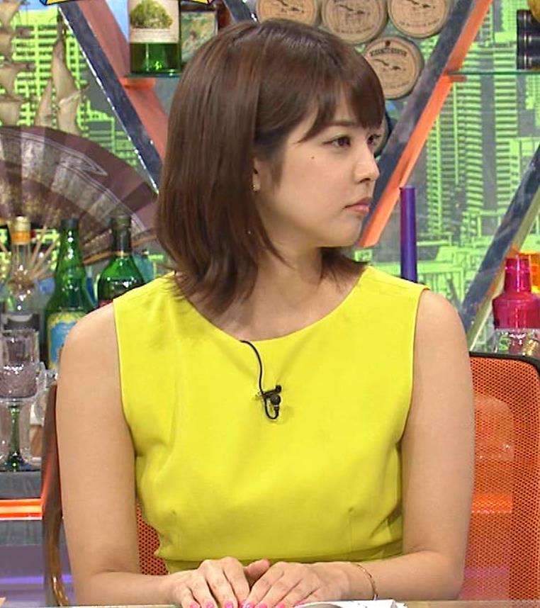久代萌美アナ 健康的なノースリーブキャプ・エロ画像7