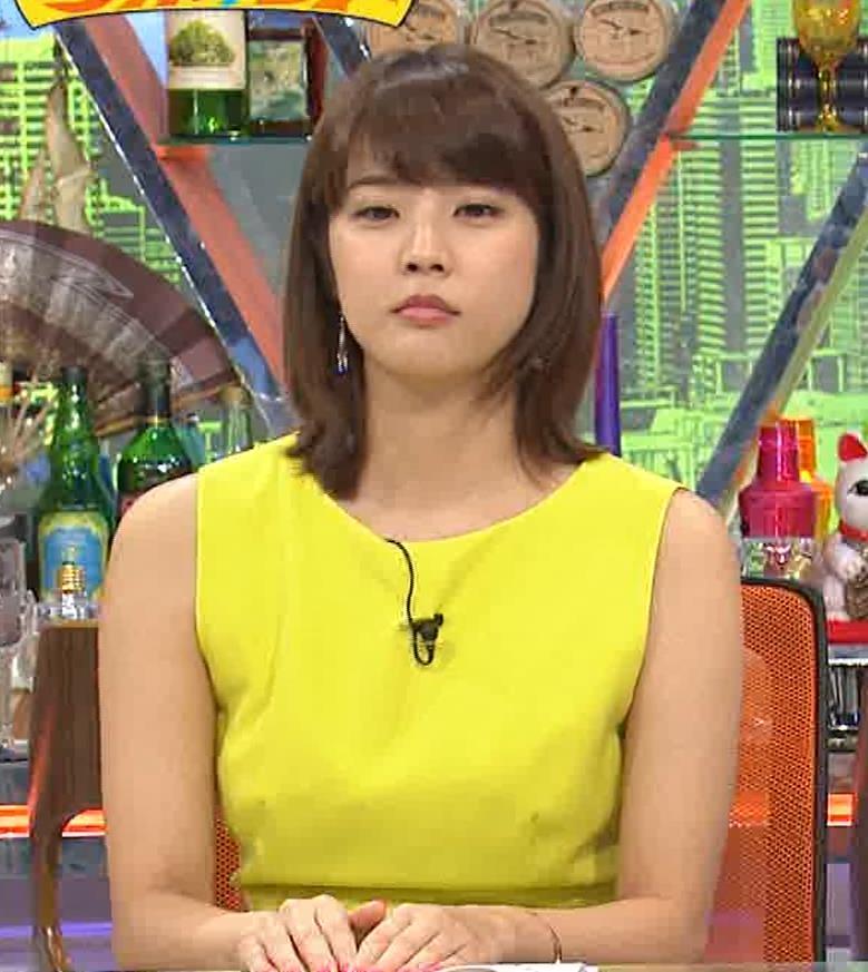久代萌美アナ 健康的なノースリーブキャプ・エロ画像8