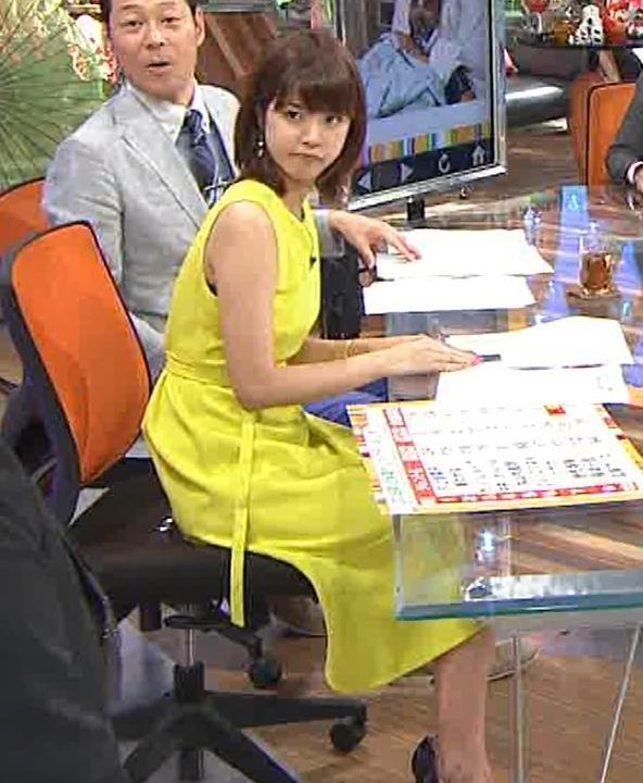 久代萌美アナ 健康的なノースリーブキャプ・エロ画像10
