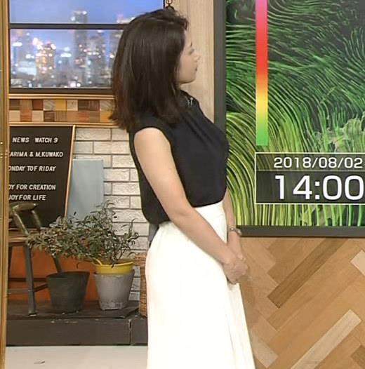 アナ 薄着横乳とプリケツ!キャプ・エロ画像6