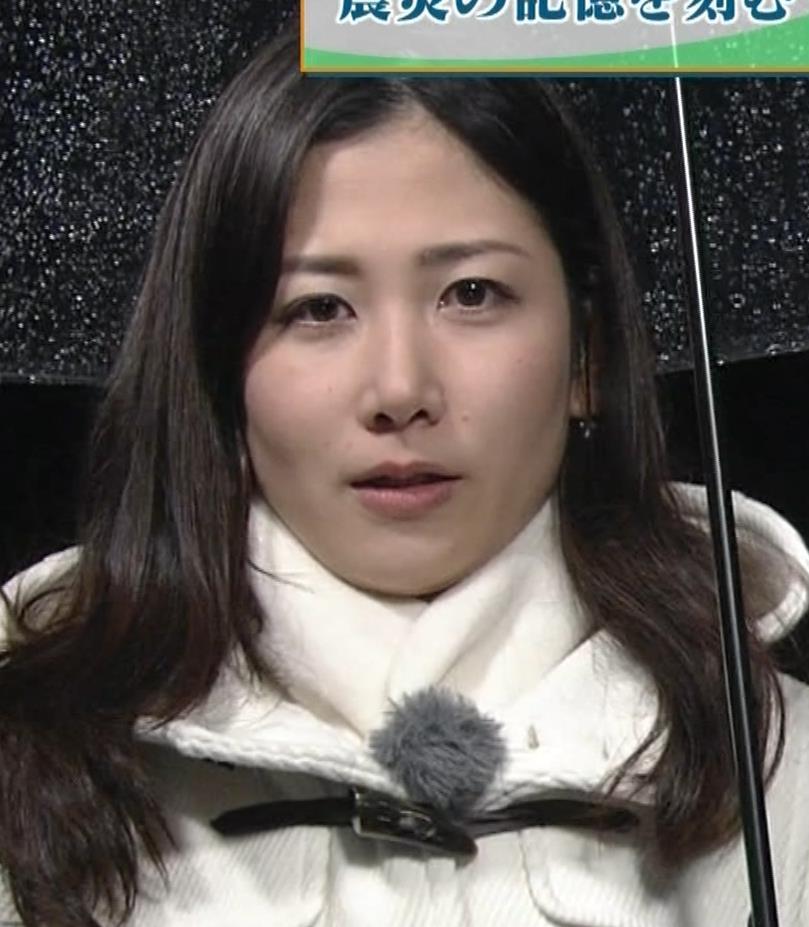 桑子真帆アナ ジャケットの下のニット巨乳キャプ・エロ画像6