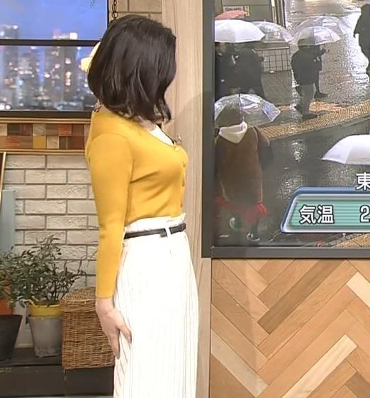 桑子真帆アナ 飛び出だ横乳がエロ過ぎだキャプ・エロ画像11