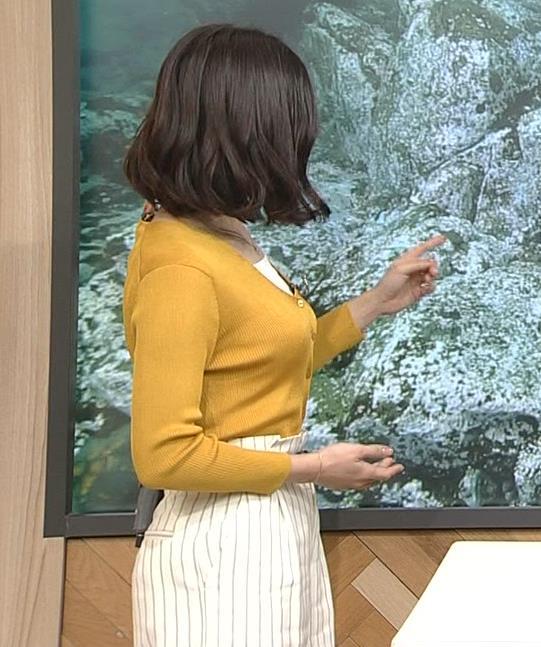 桑子真帆アナ 飛び出だ横乳がエロ過ぎだキャプ・エロ画像5