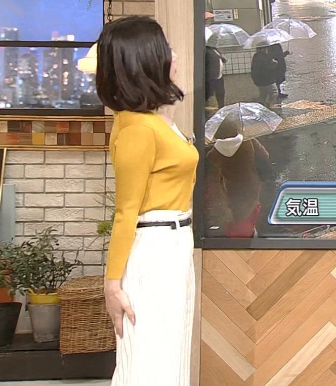 桑子真帆アナ 飛び出だ横乳がエロ過ぎだキャプ・エロ画像8