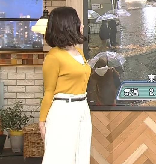 桑子真帆アナ 飛び出だ横乳がエロ過ぎだキャプ・エロ画像9