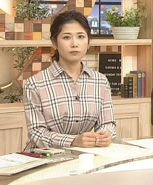 桑子真帆アナ 桑パイの横乳キャプ・エロ画像4