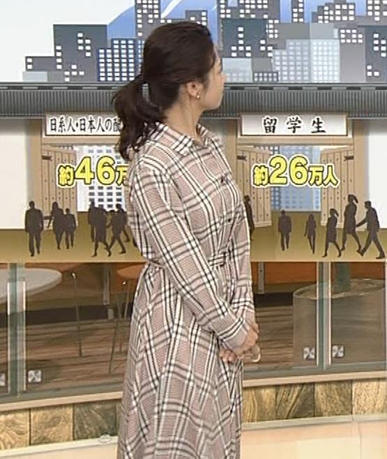 桑子真帆アナ 桑パイの横乳キャプ・エロ画像8