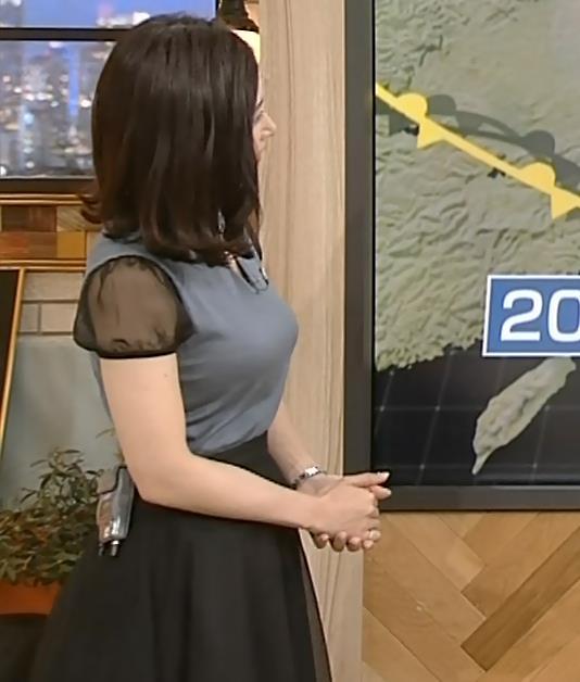 桑子真帆アナ 飛び出したロケットおっぱいキャプ・エロ画像6