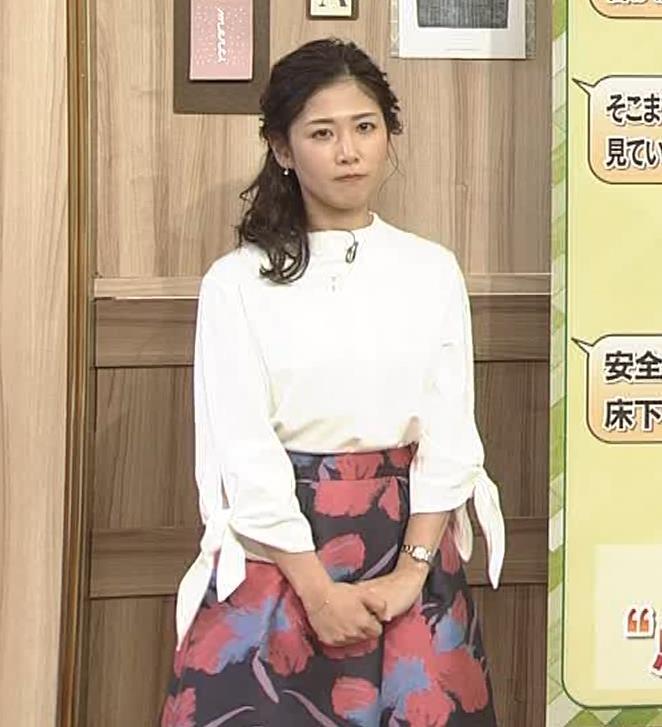 桑子真帆アナ 思いのほか乳でけぇキャプ・エロ画像