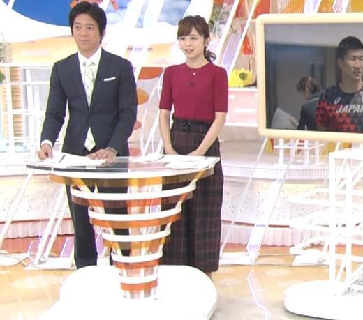 久慈暁子アナ ニット乳キャプ・エロ画像2