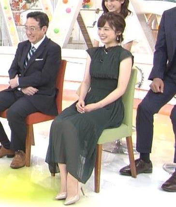 久慈暁子アナ ウエストほっそ!!キャプ・エロ画像6