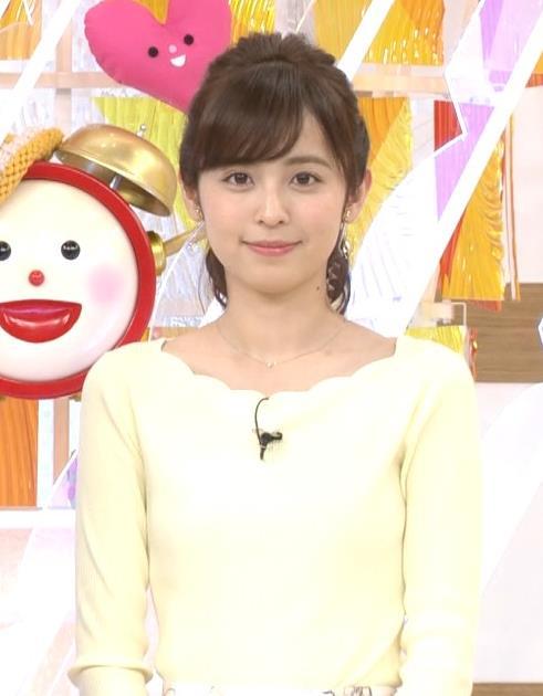 久慈暁子アナ 美脚ふくらはぎキャプ・エロ画像2