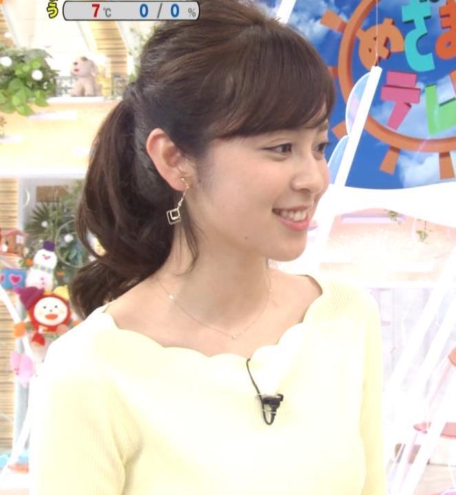 久慈暁子アナ 美脚ふくらはぎキャプ・エロ画像3