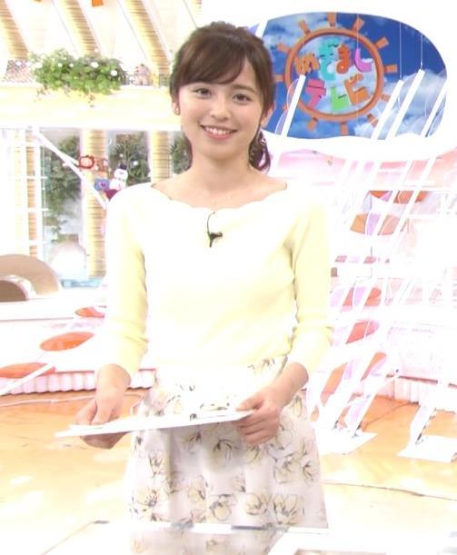 久慈暁子アナ 美脚ふくらはぎキャプ・エロ画像4