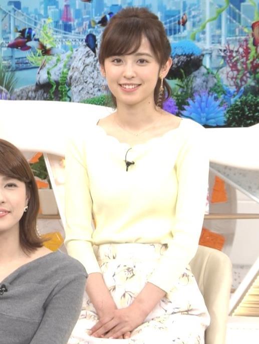 久慈暁子アナ 美脚ふくらはぎキャプ・エロ画像5