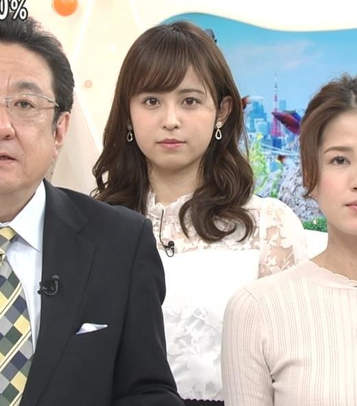 久慈暁子アナ 透け透け衣装キャプ・エロ画像
