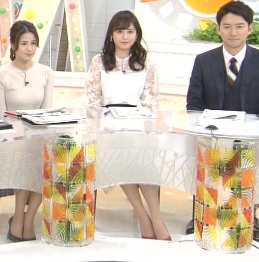 久慈暁子アナ 透け透け衣装キャプ・エロ画像5