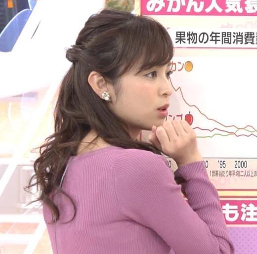 久慈暁子 大きくないけどニット乳がエロい。キャプ画像(エロ・アイコラ画像)