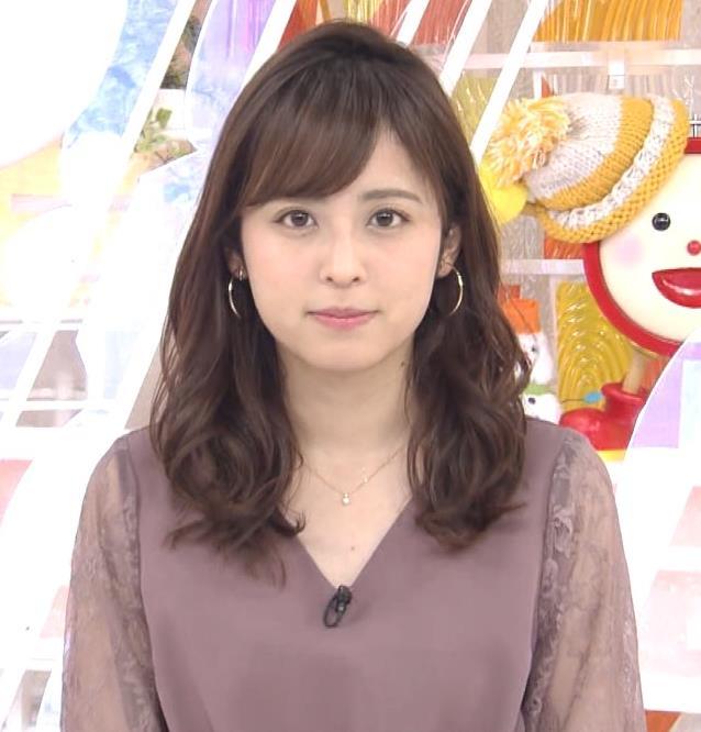 久慈暁子アナ 一応、透けた衣装キャプ・エロ画像2