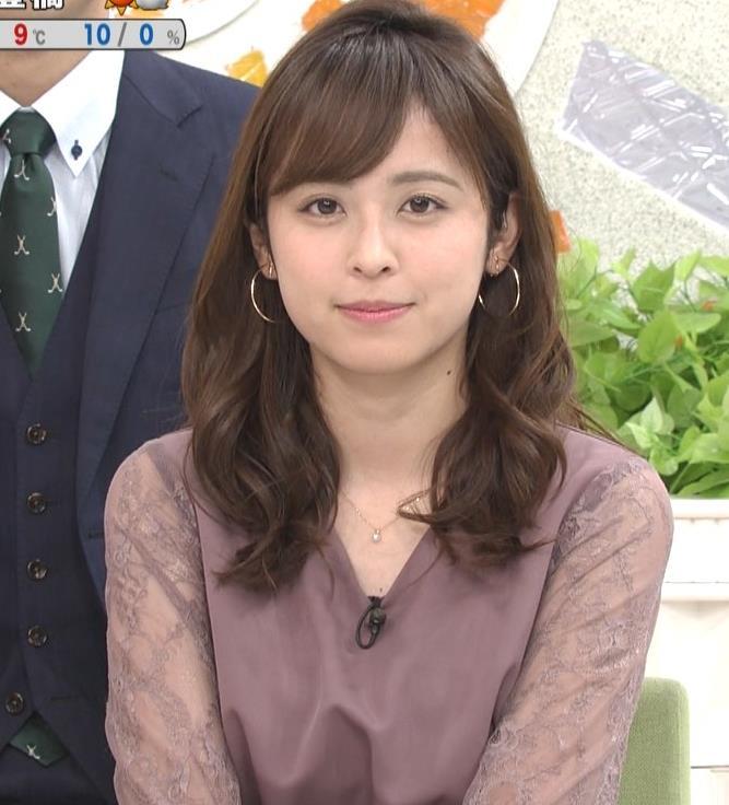 久慈暁子アナ 一応、透けた衣装キャプ・エロ画像5